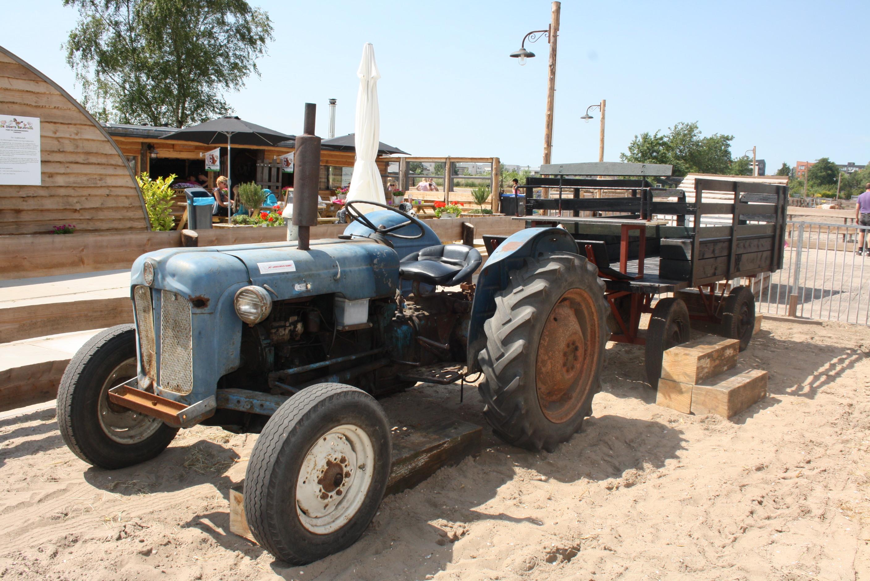 nieuwe traktor